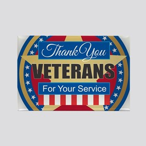 Thank You Veterans Magnets